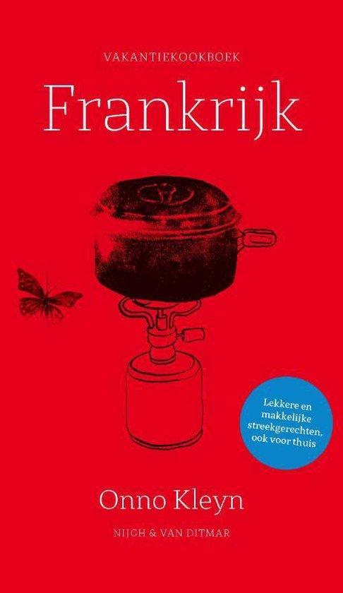 Boek cover Vakantiekookboek Frankrijk van Onno Kleyn