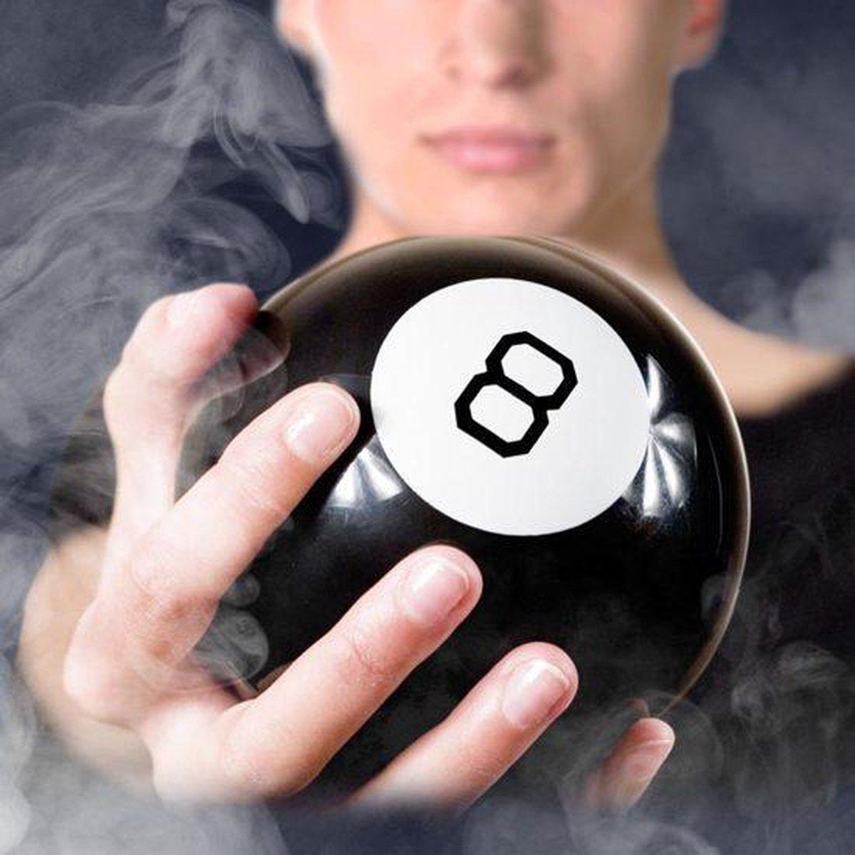 Magic 8 Ball - Dobbelspel - Toekomst Voorspellen - Zwart