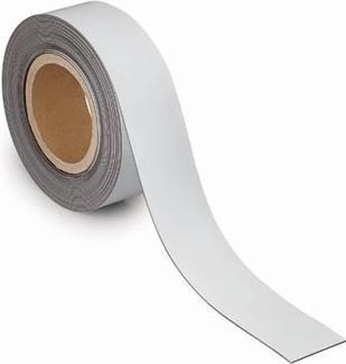 Magneetband, beschrijf-, wisbaar, 10 m x 50 mm x 1 mm