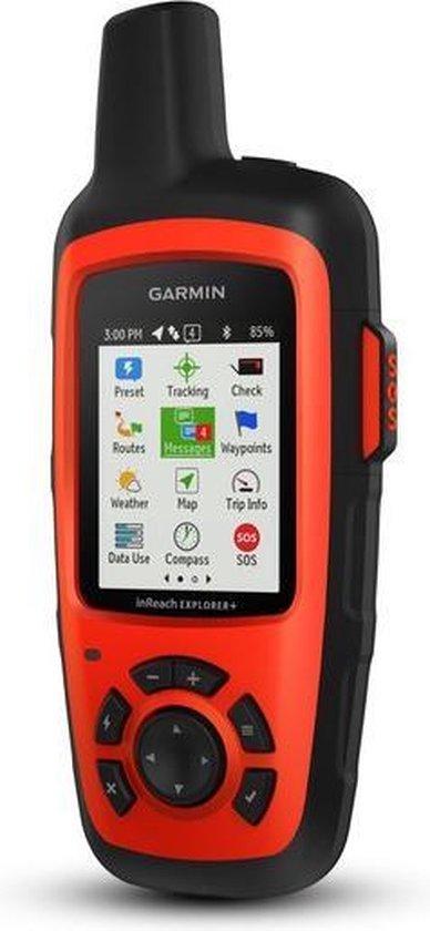 Garmin inReach Explorer+ navigator 5,87 cm (2.31'') TFT Handheld Zwart, Oranje 213 g