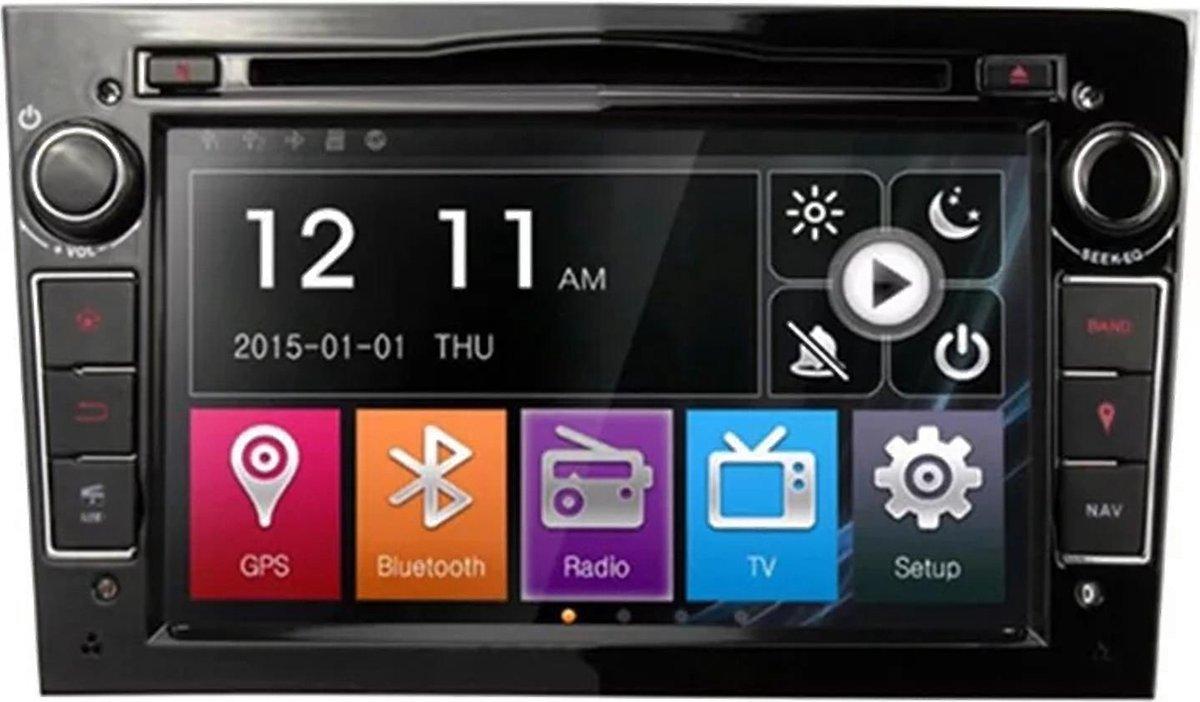 Voltario® opel autoradio navigatie / bluetooth / carkit / streamen/ kleur zwart