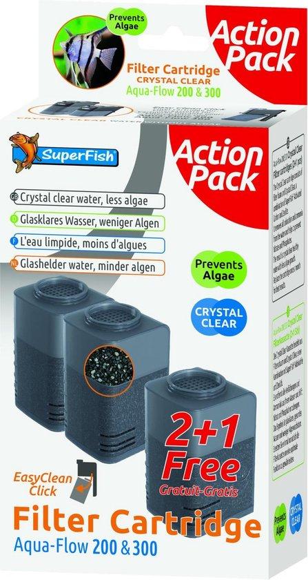 Superfish Aqua-Flow 200 en 300 - Aquariumfilter - 3 stuks