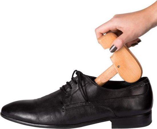 TecTake - Professionele schoenspanners maat 44-45 , hout - 402243 - Tectake