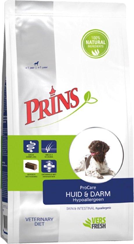 Prins ProCare Dieetvoeding Huid en Darm Hypoallergeen 15 kg - Hond