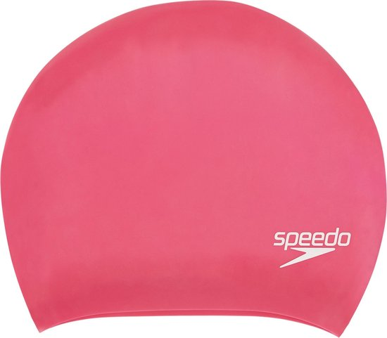 Speedo Long Hair Silicone Cap Badmuts Unisex - One Size