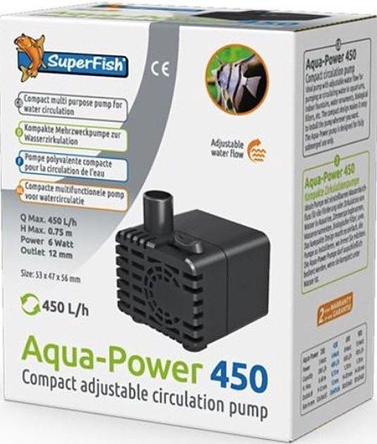 Superfish aquarium pomp Aquapower 450 - 450 L/H