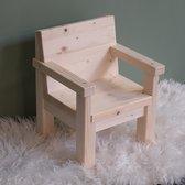 Klein houten kinderstoeltjes 1-3 jaar   stoeltje peuter van massief hout