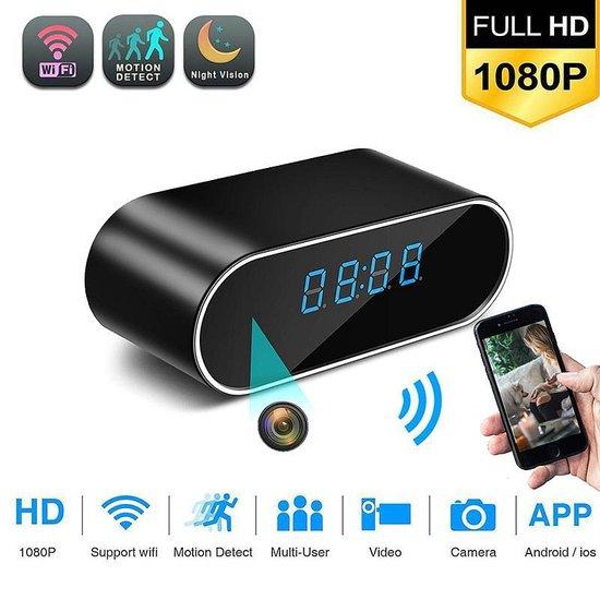 TKSTAR 1080 FHD WIFI Verborgen Camera Draadloze Live Video Bewegingsdetectie Nachtzicht Huis Beveiliging Met Desktop Wekker