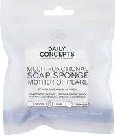 Multifunctionele zeepspons Mother of Pearls