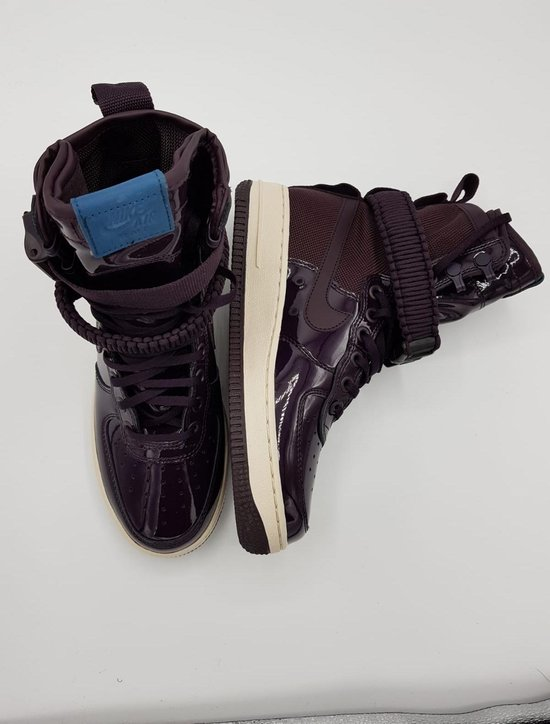 Nike SF AF1 SE PRM W schoenen bordeaux rood maat 37.5 FNQedqR5