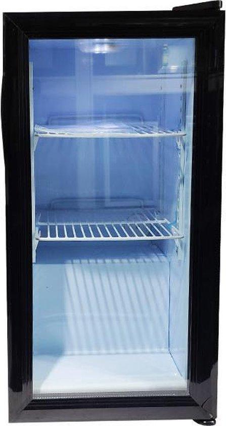 Koelkast: VDT Minibar- koelkast 40L- glazen deur- 35 x 43 x 72cm, van het merk VDT