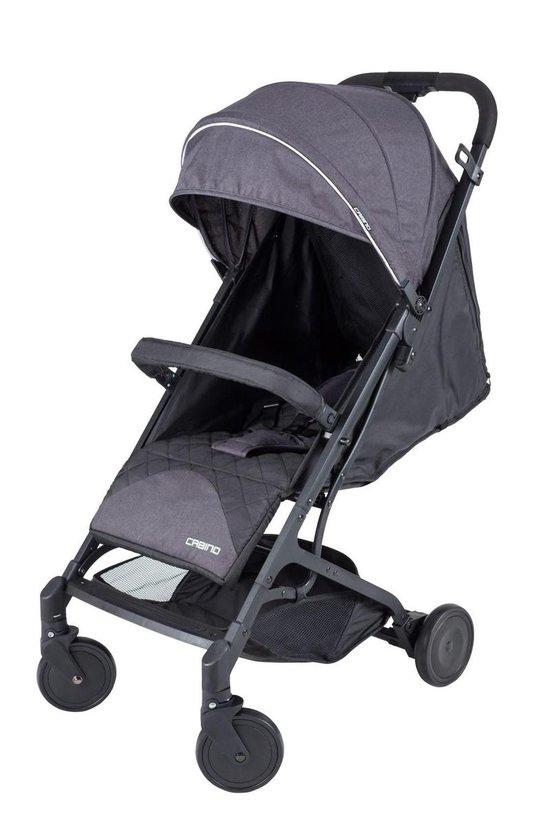 Product: Cabino Buggy Nano- Plooibuggy - Lichtgewicht - Zwart, van het merk cabino