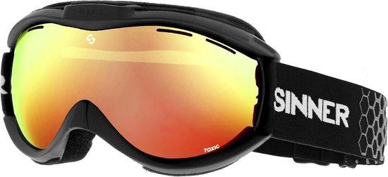 Sinner Toxic Unisex Skibril - Zwart