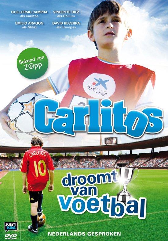 Cover van de film 'Carlitos Droomt Van Voetbal'