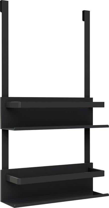 Allibert New Game - doucherek - mat zwart gelakt aluminium