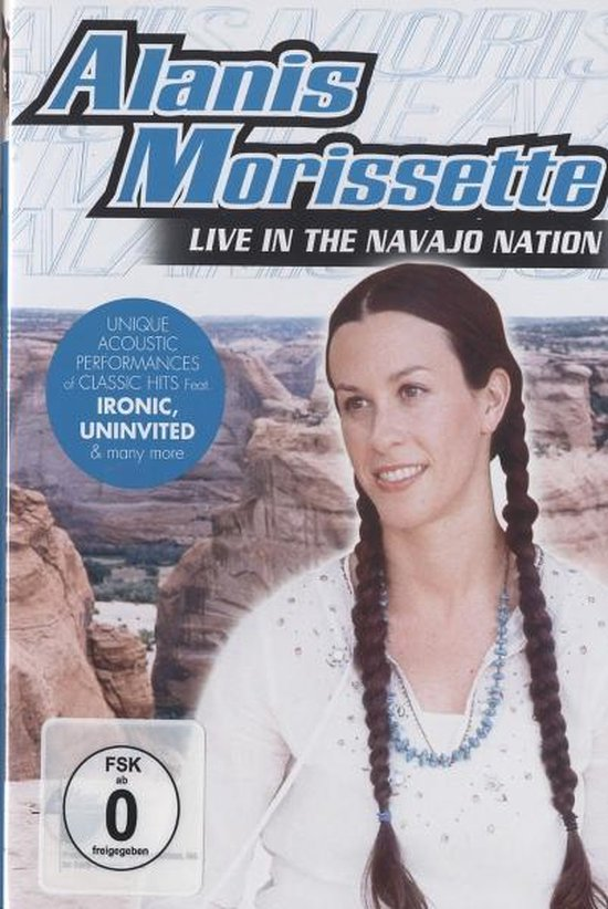 Cover van de film 'Alanis Morissette - Live In The Navajo Nation'