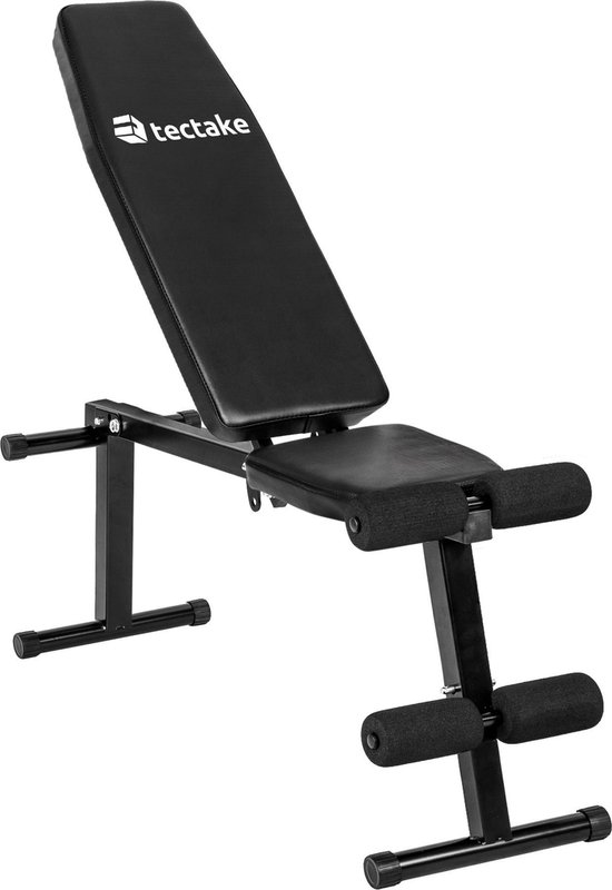 tectake - fitness bank halterbank -  multihoek verstelbaar - 402268