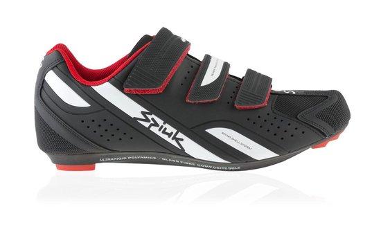 Spiuk Rodda - Racefietsschoenen - Zwart/Wit - Unisex - Maat 45 - Spiuk