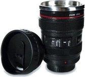 Camera Lens Mok 13,5x8cm thermosbeker