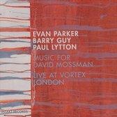 Music For David Mossman Live At Vor