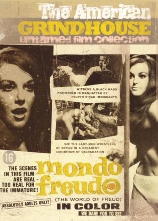 Cover van de film 'Mondo Freudo'