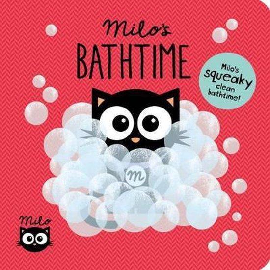 Boek cover Milos Bathtime van Faye Williamson (Hardcover)