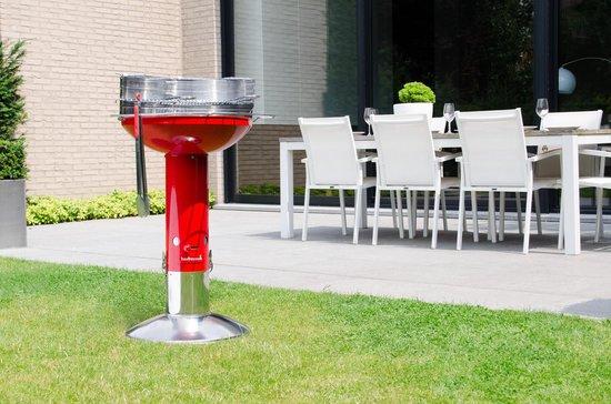 Barbecook Major Chili Houtskoolbarbecue - Ø 50 cm - Rood