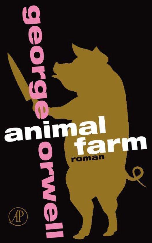Boek cover Animal farm van George Orwell (Onbekend)