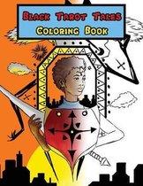 Black Tarot Tales Coloring Book