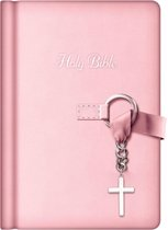 NKJV, Simply Charming Bible, Hardcover, Pink
