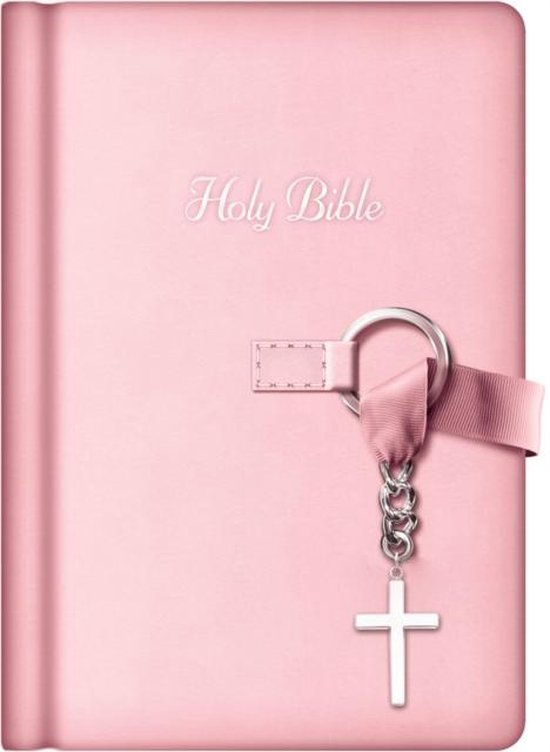 Boek cover NKJV, Simply Charming Bible, Hardcover, Pink van Thomas Nelson (Hardcover)