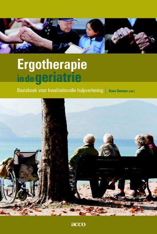 Ergotherapie in de geriatrie - none |