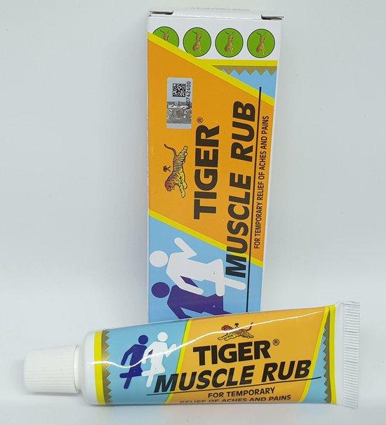 Tijgerbalsem Spierzalf tube 'Tiger Balm Muscle Rub' 30 gram