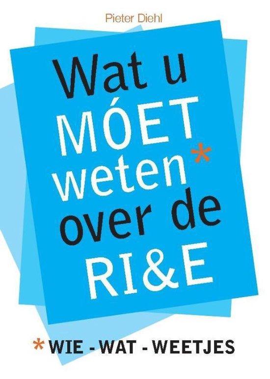 Zakboek Wat u moet weten over de RI&E - Pieter Diehl |