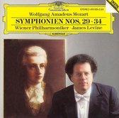 Wolfgang Amadeus Mozart: Symphonien Nos. 29, 34