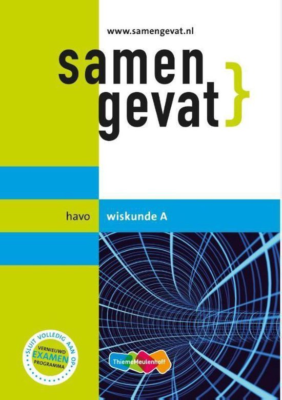 Boek cover Samengevat  -   Wiskunde A van F.C. Luijbe (Paperback)