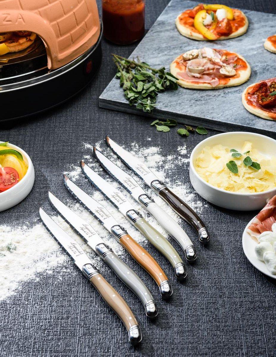 Laguiole Style de Vie Steakmessen Premium Line - 6-delig - Treasure - Laguiole Style de Vie
