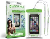Waterproof Case For Smartphone White & Green