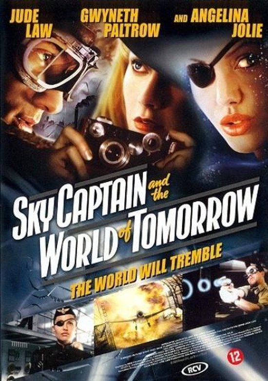 Cover van de film 'Sky Captain And The World Of Tomorrow'