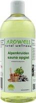 Arowell - Alpenkruiden sauna opgiet saunageur opgietconcentraat - 500 ml