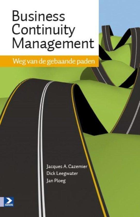 Cover van het boek 'Business Continuity Management'