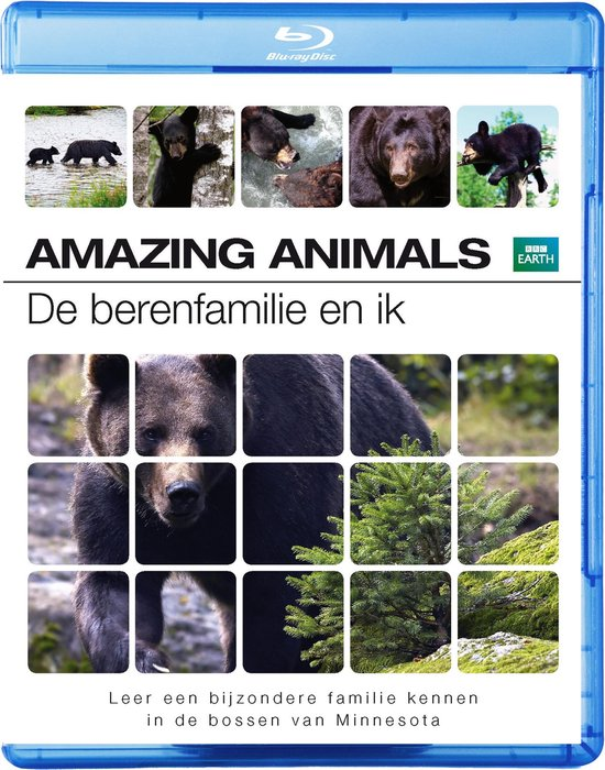 Cover van de film 'Amazing Animals - De Berenfamilie & Ik'