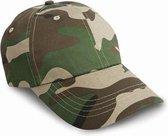 Camouflage cap voor volwassenen