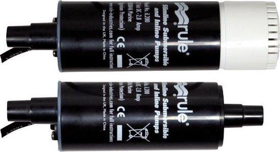 Rule iL500P-24 24V Slimline Pomp 31,8 liter/min