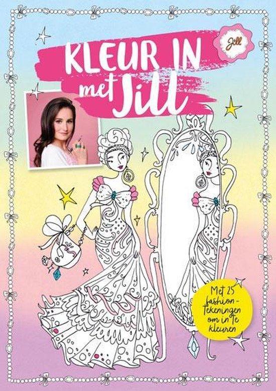 Boek cover Jill - Kleur in met Jill van Jill Schirnhofer (Paperback)