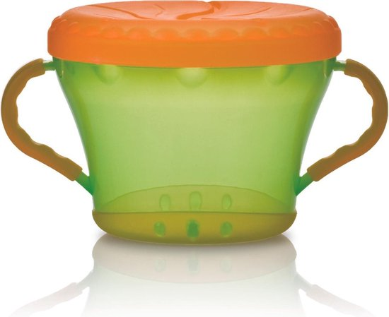 Nûby - Snackhouder - Oranje