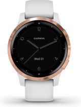 Garmin Vivoactive 4S - Smartwatch - White/Rosegold