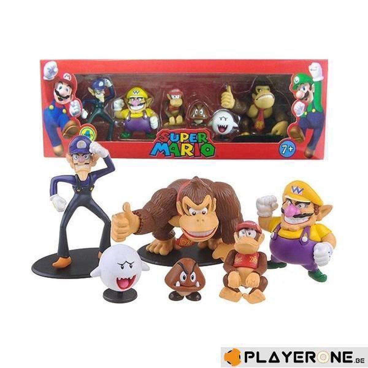 Super Mario Minifiguren - 6 Stuks - Serie 4 - Merchandising
