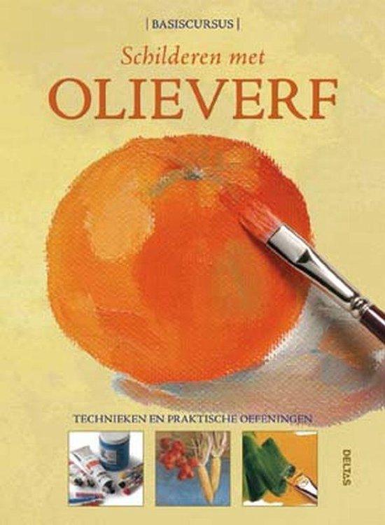 Cover van het boek 'Schilderen met olieverf'