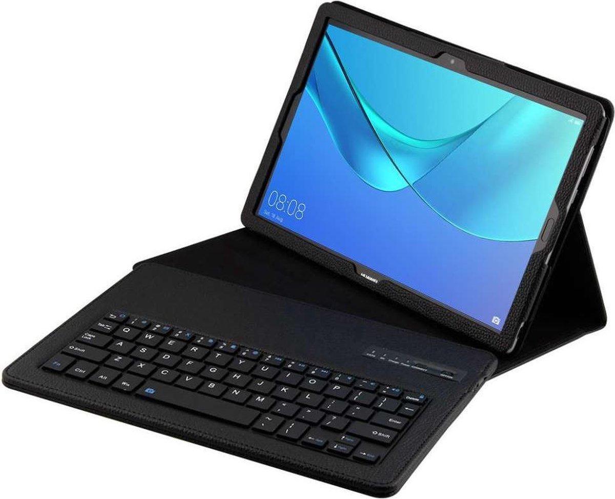 Huawei MediaPad M5 10 / 10 Pro hoesje - Bluetooth Keyboard Case - zwart - Knaldeals.com